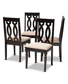 Cherese Dining Chair, Set of 4