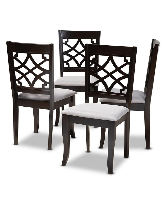 Furniture - Mael Dining Chair, Quick Ship (Set of 4)