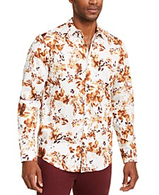 INC Men's Keith Floral Shirt, Created for Macy's