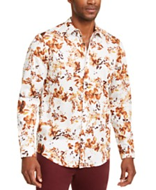 I.N.C. Men's Keith Floral Shirt, Created for Macy's