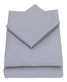 Solid 3-Piece Toddler Sheet Set