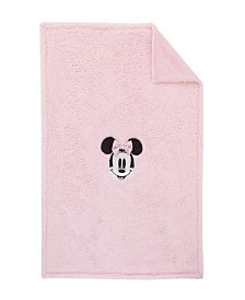 Disney Minnie Mouse Sherpa Blanket with Applique