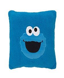 Cookie Monster Super Soft Decorative Pillow