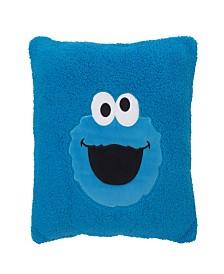 Sesame Street Cookie Monster Super Soft Decorative Pillow