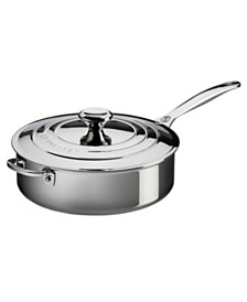 Le Creuset Stainless Steel 4.5-Qt. Saute Pan with Lid & Helper Handle