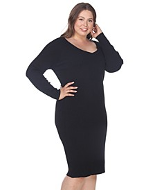 Women's Plus Size Destiny Sweater Dress