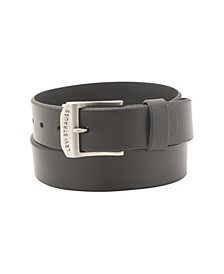 Big-Tall Casual Leather Men's Belt