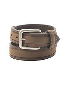 Nubuck Padded Inlay Men's Belt