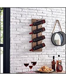 """24"""" x 8"""" Cooper Rustic Wine Rack"""