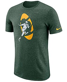 Men's Green Bay Packers Marled Historic Logo T-Shirt