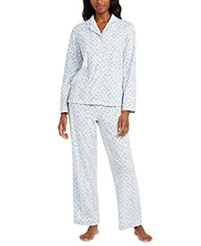 Women's Cozy Fleece Pajama Set, Created for Macy's