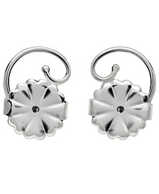 Earring Backs in Sterling Silver