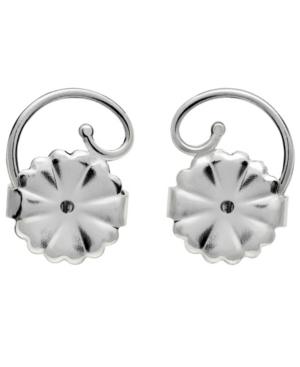Earring Backs in Sterling Silver