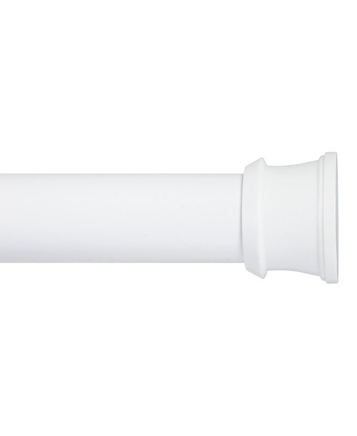 """Kenney - Twist Fit™ No Tools Stall Shower Curtain Rod, 24-40"""""""
