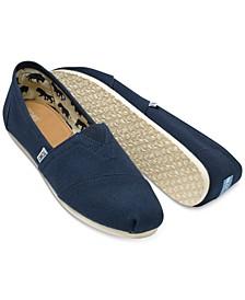 Men's Alpargata Canvas Loafers