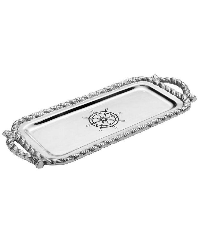 Wilton Armetale Nautical Long Bread Tray