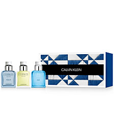 Calvin Klein Men's 3-Pc. Eternity Gift Set