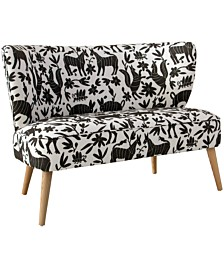 Parker Armless Love Seat, Quick Ship