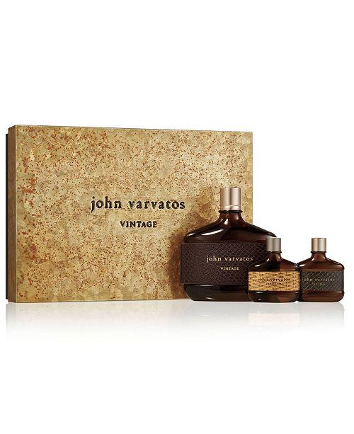 John Varvatos Men's 3-Pc. Vintage Eau de Toilette Gift Set