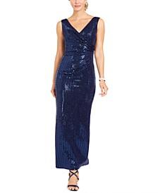 Petite Sequin Gown