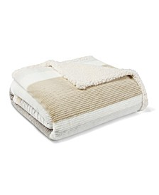 Fillmore Stripe Sherpa Throw