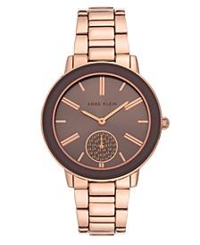 Women's Rose Gold-Tone Bracelet Watch 36mm
