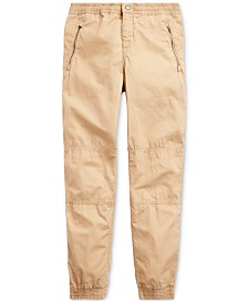 Polo Ralph Lauren Big Boys Poplin Joggers