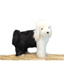 Sheep Dog Standing Plush Toy