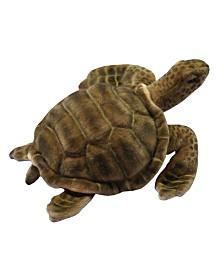 "Hansa 20"" Sea Tortoise Plush Toy"