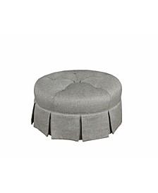 Ava Round Ottoman
