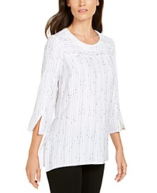 Textured Studded Tunic Top, Created for Macy's