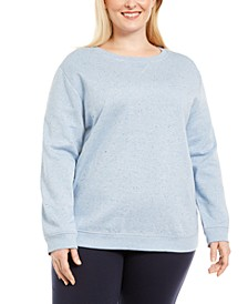 Plus Size Fleece Sweatshirt, Created For Macy's