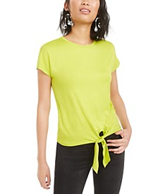 Tie-Front T-Shirt, Created for Macy's