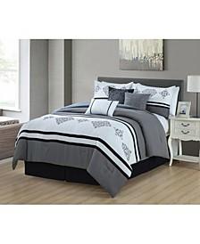 Gloucester 7 Piece Comforter Set, Queen