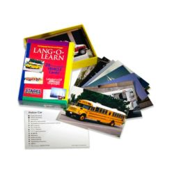 Stages Learning Materials Lang-o-Learn Esl Vocabulary Cards Flashcards, Vehicles