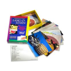 Stages Learning Materials Lang-o-Learn Esl Vocabulary Cards Flashcards, Fruits and Vegetables