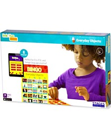 Stages Learning Materials Link4Fun Real Photo Everyday Objects Bingo Game