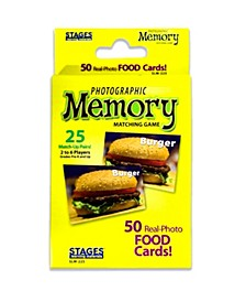- Picture Memory Card Game - Foods