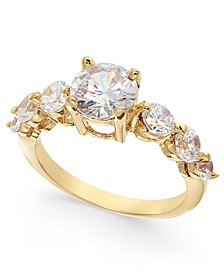 Gold-Tone Crystal Five-Stone Ring, Created For Macy's