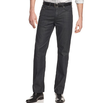 Alfani Big and Tall Deker Coated Mens Jeans