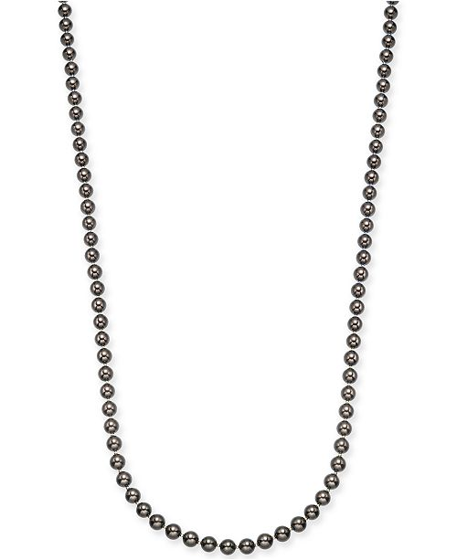 """Charter Club Gold-Tone Imitation Mocha Pearl Strand Necklace, 42"""" + 3"""" extender, Created For Macy's"""