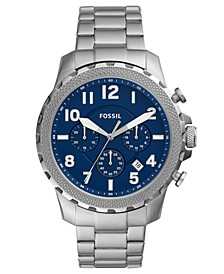 Men's Chronograph Bowman Stainless Steel Bracelet Watch 46mm