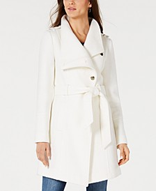 Asymmetrical Wrap Coat, Created for Macy's