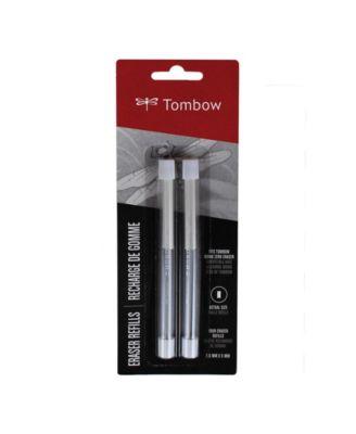 Tombow Mono Zero Eraser Refills, Rectangle, 2-Pack