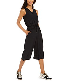 V-Neck Cropped Jumpsuit, Created for Macy's
