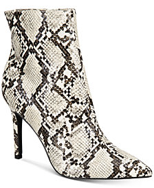 Thalia Sodi Women's Rylie Pointed Toe Ankle Booties, Created for Macy's