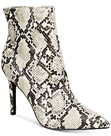 Thalia Sodi Rylie Pointed Toe Ankle Booties, Created For Macy's