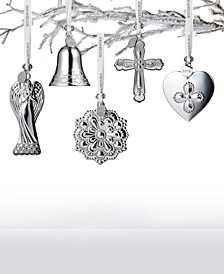 2019 Silver Ornament Collection