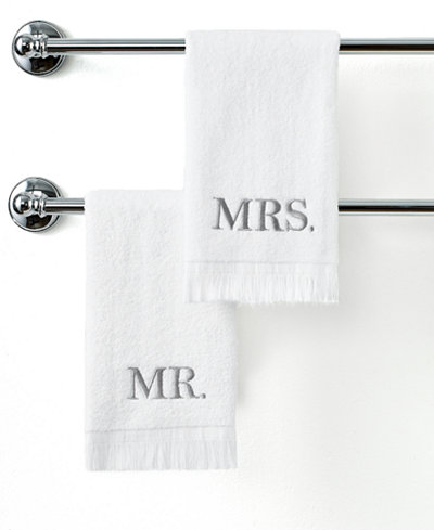 Avanti Bath Towels, Mr. & Mrs. 11
