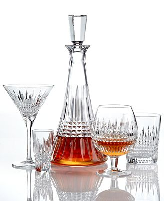 waterford barware, lismore diamond collection - all glassware